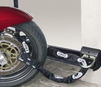 ART4 motorslot met muuranker als eis voor motorverzekering tegen diefstal