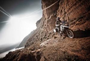 BMW GS in Offroad in de bergen