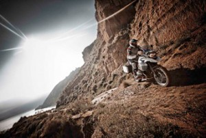 BMW GS in Offroad in de bergen