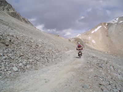 Alpen offroad route (bron allroadmaniacs)