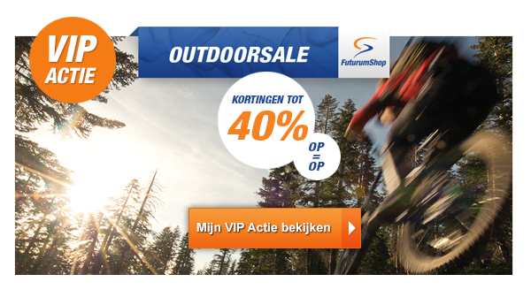 OUTDOORSALE Futurumshop tot 40% korting
