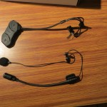 SENA SHM10R microfoons en hoofdunit uitgepakt